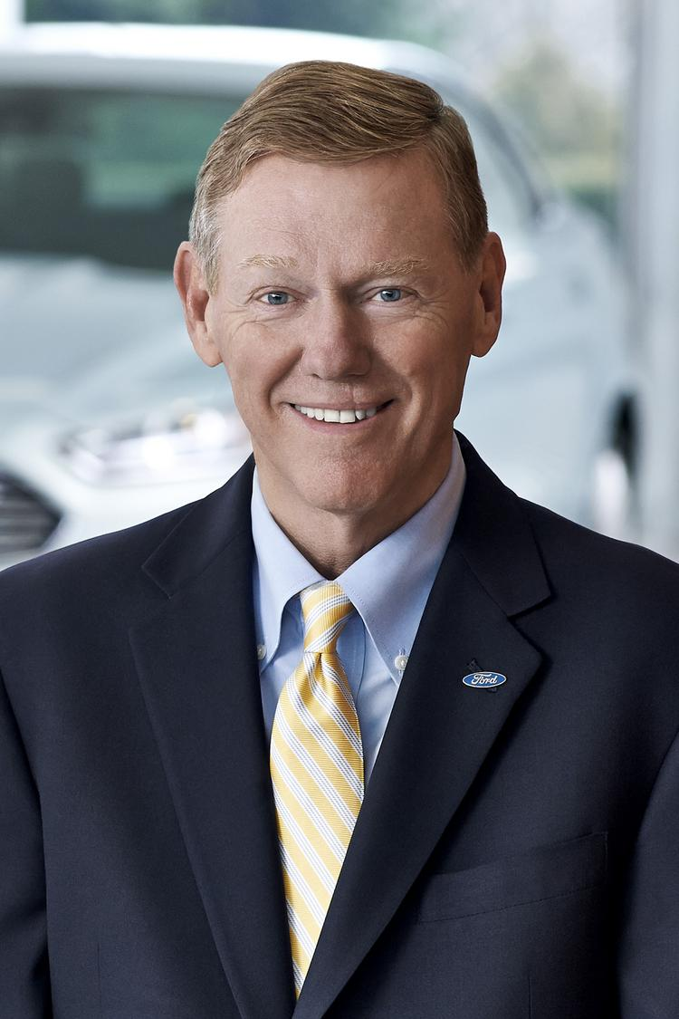Alan Mulally will stay at Ford as CEO through 2014 and will not be the next Microsoft CEO.