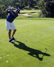 Faced with changing consumer tastes, new economic realities and a lagging interest in golf, country clubs are scrambling to evolve. Here, Mike Davis plays golf at Serrano Country Club in El Dorado Hills.  From the story: Country clubs try to get out of the rough