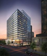 Schnitzer West has named this 16-story project Centre 425. It's in downtown Bellevue at 415 106th Ave. N.E. Company officials said they will start constructing the building by the end of 2014.