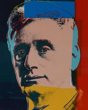 """Andy Warhol's """"Louis Brandeis """" (from portraits of Jews of the 20th Century)."""
