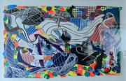 """Frank Stella's """"Monstrous Pictures of Whales."""""""