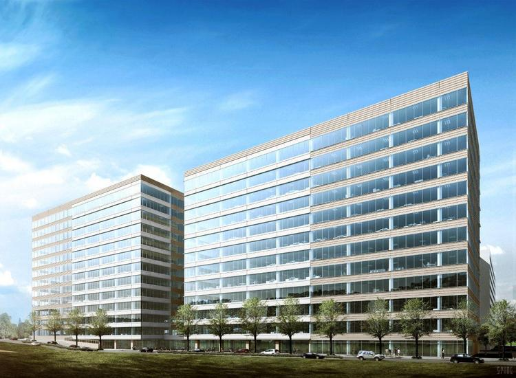 Exxon will occupy about 478,000 square feet in two buildings in Hughes Landing.