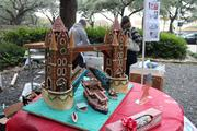 """Story: AIA Houston gingerbread build-off winners revealed (photos)  Pictured: Grand Prix de Show """"London Tower Bridge"""" by Kirksey Architecture"""