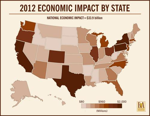 Economic impact of craft beer in Minnesota is 15th-highest of nation - Minneapolis / St. Paul Business Journal
