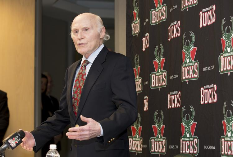 Milwaukee Bucks owner Herb Kohl speaks at a press conference Dec. 16, 2013, in which he announced plans to take on additional investors in the NBA team.