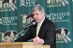 Siena's new coach—and new trustee of its basketball brand