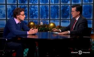 BuzzFeed founder Jonah Peretti talks viral content with Stephen Colbert.