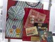 Original uniforms and other items from the first Wendy's first restaurant.