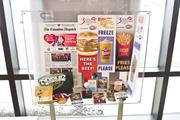 Items from various charities that Wendy's has been involved with.