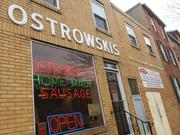 Ostrowski's sits along Washington Street in Fells Point.