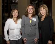 Los Rios Community College District administrative assistant Debbie Schlesinger, NextEd director of finance Dina McHugh and Paula Sabo of Los Rios, in accounting, pose at the NextEd convergence program.
