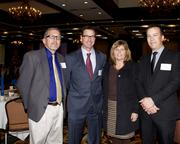 Winters Joint Unified School District superintendent Brent Cushenbery, Sacramento County Office of Education assistant superintendent Matt Perry, Health Workforce Initiative deputy sector navigator Sue Hussey and Sletten project manager Kyle Glankler are at the NextEd convergence event.