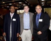 UDW Homecare Providers Union executive vice president William Reed, executive vice president and Folsom Cordova Unified School District board members Zak Ford and Ed Shoat are at the NextEd convergence event.