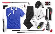 Rory McIlroy's Nike Golf apparel and equipment collection for this year's Masters tournament.