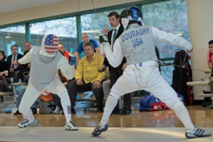 Jamie has fenced competitively for 30+ years, and has represented the U.S. 50+ team three times at the World Veteran Fencing Championships.