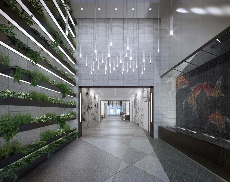 The green wall at 22 Fourth St.
