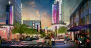 The redevelopment of Victory Park will focus on shoppers with updated signage, wide sidewalks and gathering places.