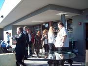 A sunny afternoon at the EDGE rooftop bar.