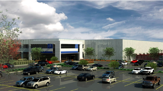 The $70 million logistics facility for Mercedes was one of the top economic development projects in Alabama in 2013.