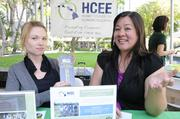 Melissa Michaels, left, outreach coordinator, and Toni Takeno, executive director for Hawaii Council on Economic Education, say their summer economics academy will teach students  economics and financial concepts.