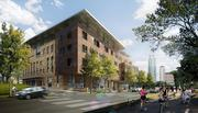 The total budget for the new Austin Central Library under construction downtown is $120 million.
