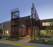 One of Lake   Flato's Austin projects is the Visual Arts Center at the University of Texas.