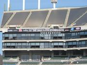 Oakland Raiders officials are looking for new ways to bring in sponsors like adding signage and places for branding.