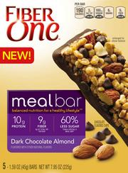 Fiber One meal bars are loaded with protein and are meant as a meal replacement for people on the go. New products have helped drive retail snack growth in the U.S. for General Mills.