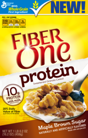 General Mills is releasing new Fiber One flavor Maple Brown Sugar. U.S. retail sales of cereal in the first half of Fiscal Year 2014 were up 2 percent over the same period last year.