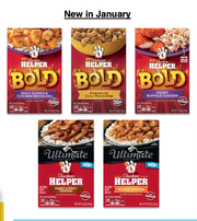 New flavors of Hamburger Helper will debut in 2014. The General Mills meal segment was down 5 percent compared to last year.