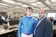 Wayfair, a Boston-based home goods e-commerce firm, has raised the most equity funding of any Boston-area tech firm. The firm's co-founders are CTO Steve Conine, left, and CEO Niraj Shah.