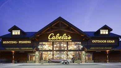 Cabela's has filed for permits to build its first store in the region in West Chester Township.