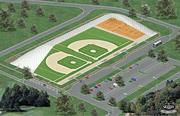 Plans call for a state-of-the-art facility with 10 outdoor youth baseball and softball fields.