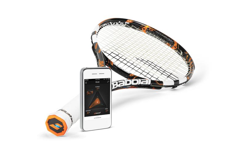 """Babolat launched a """"smart"""" tennis racket on Dec. 18 that records players' swings and allows them to analyze their games in a new way."""