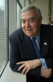 Aris Melissaratos is an executive in residence and senior adviser to the dean for the Johns Hopkins Carey School of Business. He is being honored for his service as board chairman of the Cystic Fibrosis Foundation.