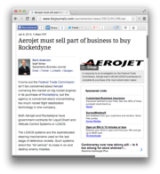 24.  Aerojet must sell part of business to buy Rocketdyne