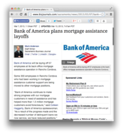 18. Bank of America plans mortgage assistance layoffs in Rancho Cordova