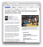 23. Another rumor? This one says Sacramento Kings have been sold