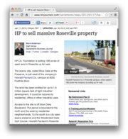 8. HP to sell massive Roseville property