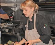 Chef Caitlyn Mateo at Square 1682.