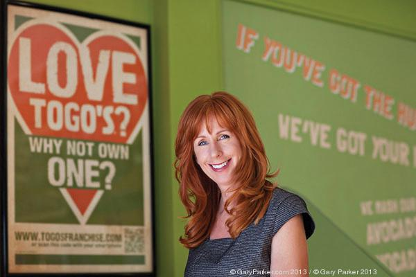 Renae Scott, vice president of branding and marketing at Togo's Eateries Inc.
