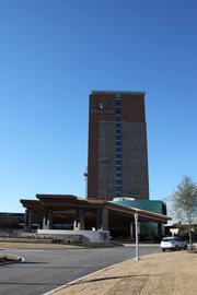 An exterior shot of the new casino, which is about a two-and-a-half hour drive from Atlanta.