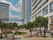 The entire CityLine development will be walkable for office workers and residents, alike.