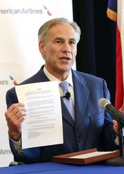 In August, Texas Attorney General Greg Abbott joined with the U.S. Department of Justice and his counterparts in five other states in filing a civil antitrust lawsuit designed to block the merger on the grounds it would hurt consumers by raising prices and reducing competition. The airlines ultimately settled with all parties.
