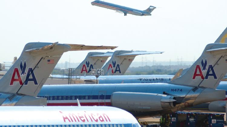 The post-merger American Airlines Group Inc. is the world's largest airline.
