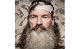 A&E announced that Phil Robertson, the patriarch of Duck Dynasty, has been suspended from the show following offensive remarks he made about gay people in a GQ interview.