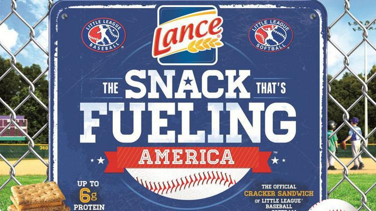 Snyder's-Lance has a new sponsorship with Little League.