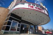 The $3.5 million renovation of the Senator Theatre included extensive work on the exterior.