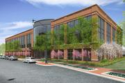 A 78,000-square-foot, three-story office building is scheduled to open in May 2015.