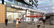 A view of the retail planned for Donohoe's Gallery Capitol Riverfront.